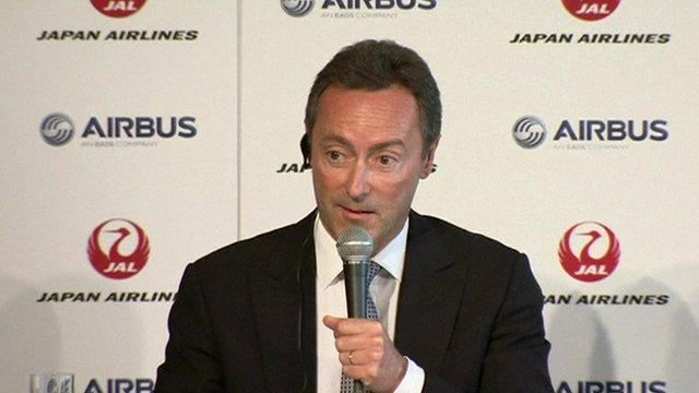 Airbus chief executive Fabrice Bregier