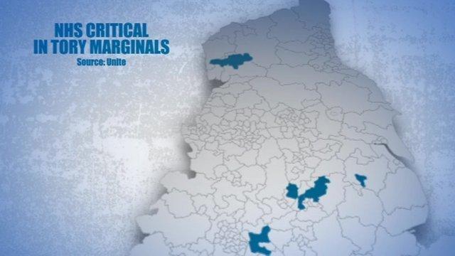 Electoral map graphic