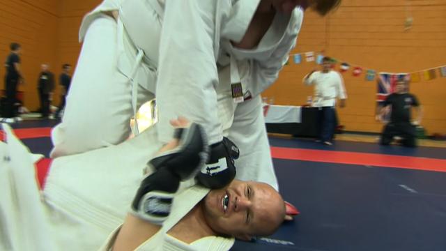Ju-Jitsu in action