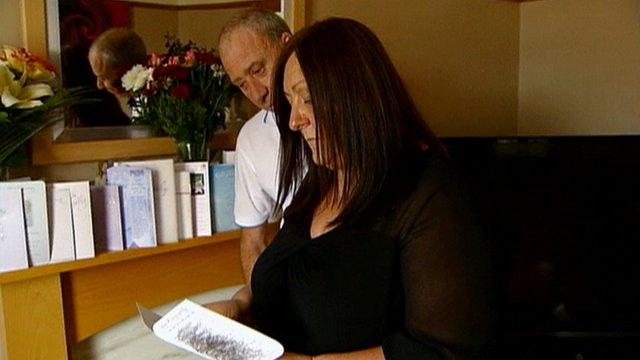 Robbie Finlayson's parents