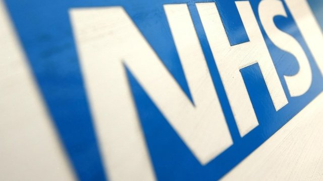 File photo dated 07/12/10 of a general view of an NHS logo.