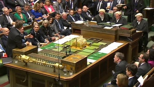David Cameron responds to Ed Balls' post-PMQs complaint about one of his earlier answers