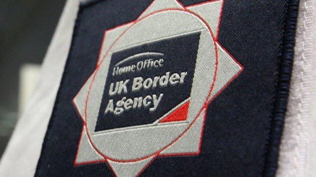 UK Border Agency badge