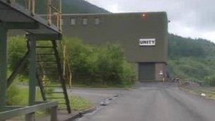 Unity Mine in Cwmgwrach