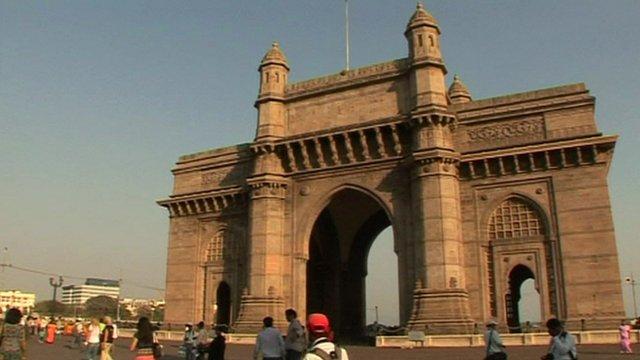 Tourists exploring India