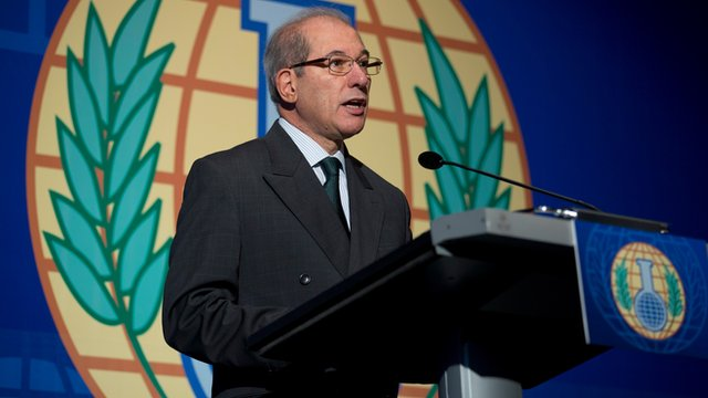 Director General of the OPCW Ahmet Uzumcu