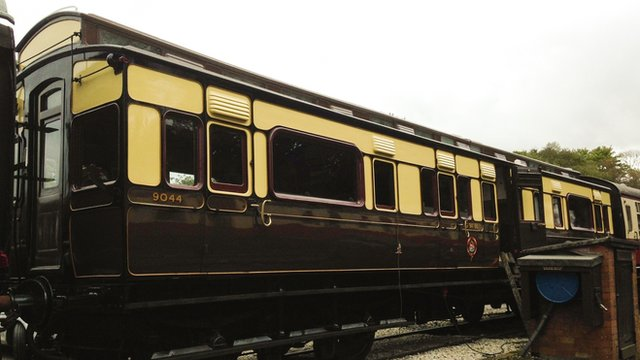 Bodmin and Wenford Railway carriage