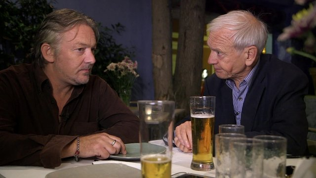 John Humphrys and his son Chris