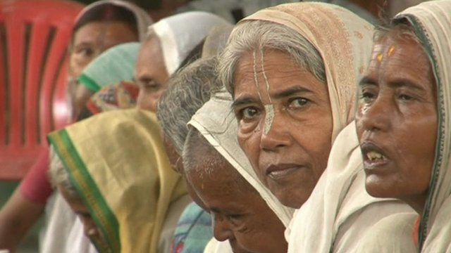 India's widows gather in a sanctuary