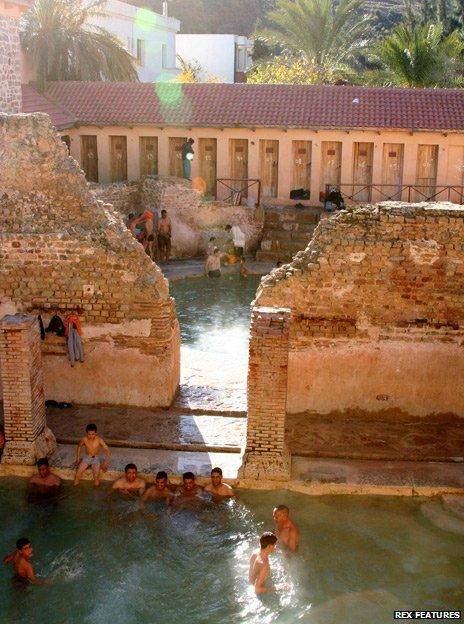 Baths at Khenchela