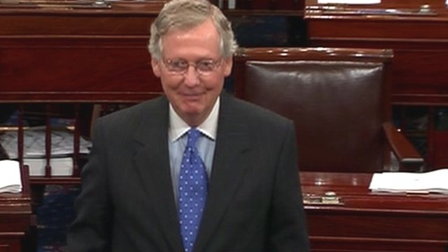 Republican Senate Minority Leader Mitch McConnell