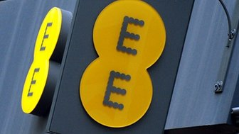 EE shop and logo