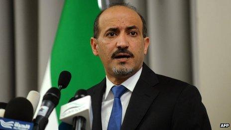 Ahmed Jarba (7 October 2013)