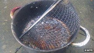 Chip pan