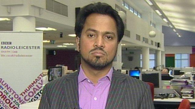 Imam and broadcaster Ajmal Masroor