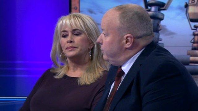 Carole Malone and Peter Kirkham