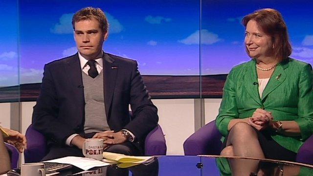 Tom Greatrex and Angela Knight
