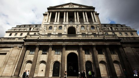 General view of the Bank of England (file photo)