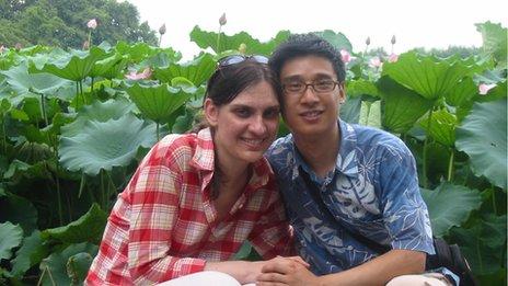 Jocelyn Eikenburg and Jun Yu