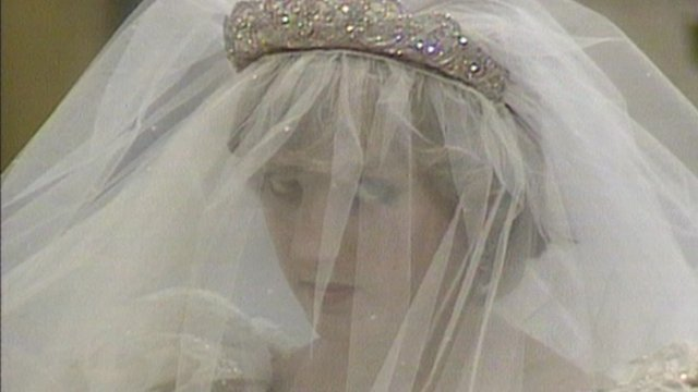 Princess Diana wedding in 1981