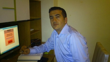 Helal Sex Shop founder, Haluk Demirel
