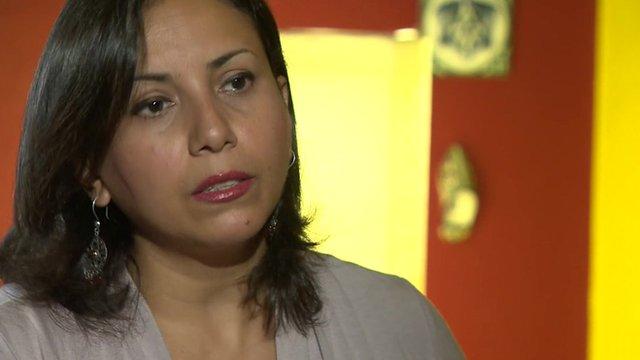 Tahrir Square sexual assault victim Hania Moheeb