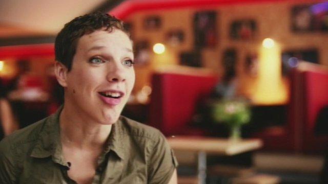 Comedian Francesca Martinez, who has cerebral palsy