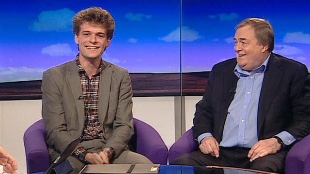 Daniel Knowles and Lord Prescott