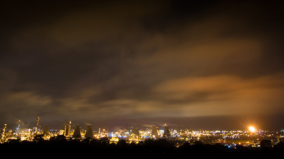 Grangemouth refinery and petrochemical plant