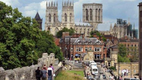 York and city walls
