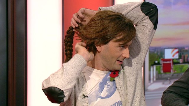David Tennant on BBC Breakfast