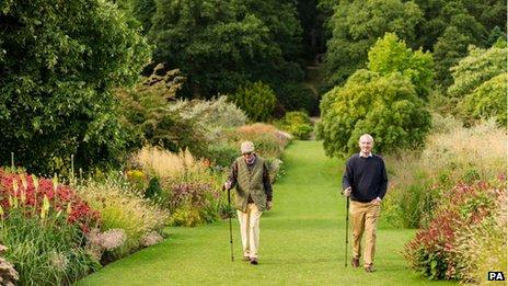 Harlow Carr gardens, near Harrogate