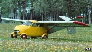 Rebuilt Aerocar prototype