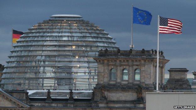 US embassy in Berlin