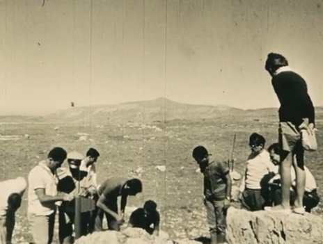Rocket launch by the Lebanese Rocket Society