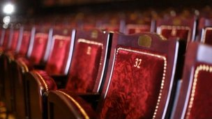 Seats in theatre