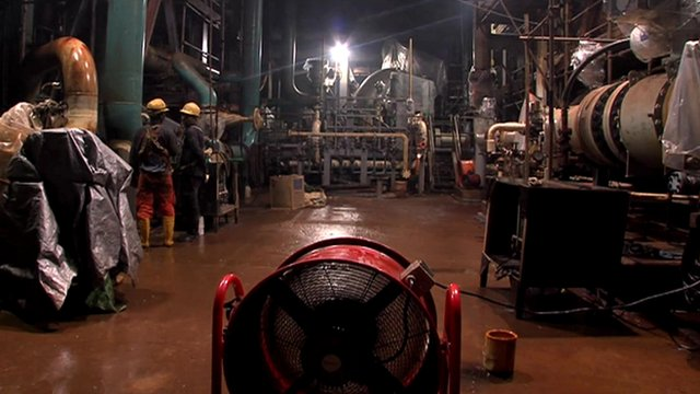 petro chemical plant