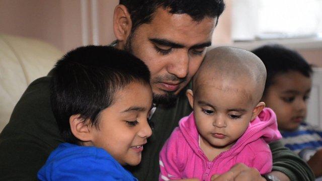Akhtar Uzzaman and family