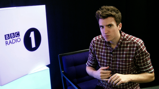 BBC Radio 1 presenter Greg James
