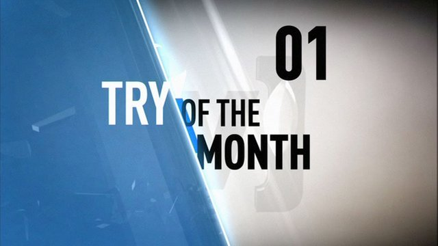 Scrum V tries of the month