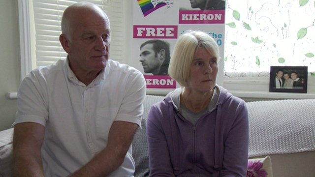 Kieron Bryan tried to reassure his parents when they last spoke on the phone