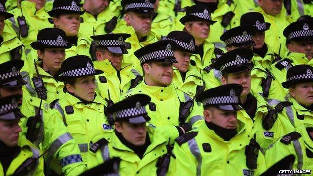 Police in Glasgow