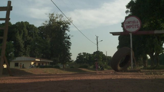 The Christian/Muslim 'barrier' in Bossangoa