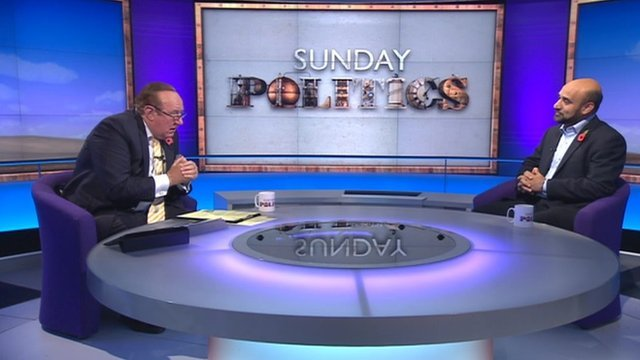 Andrew Neil and Farooq Murad