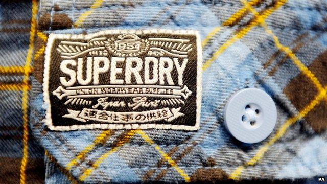 Superdry label