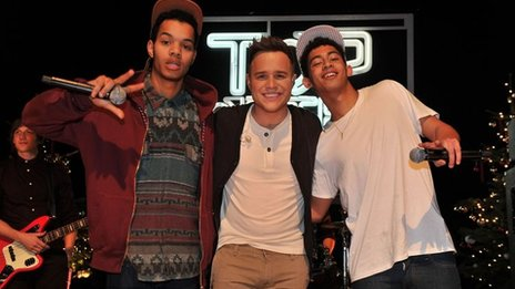 Rizzle Kicks and Olly Murs