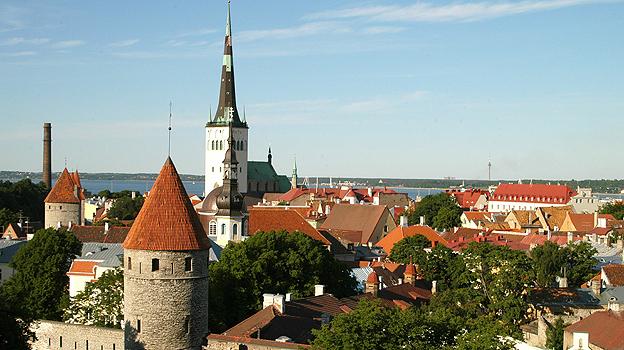 Tallin's historic old town