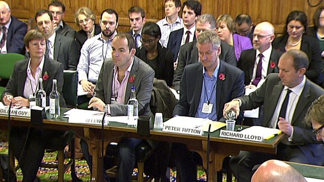 (L to R) Gillian Guy; Martin Lewis; Peter Tutton and Richard Lloyd