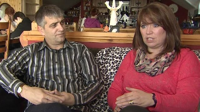 Patrick and Fionnuala Ferrin found the slowness of the adoption process frustrating