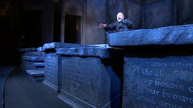 Scene from Richard III